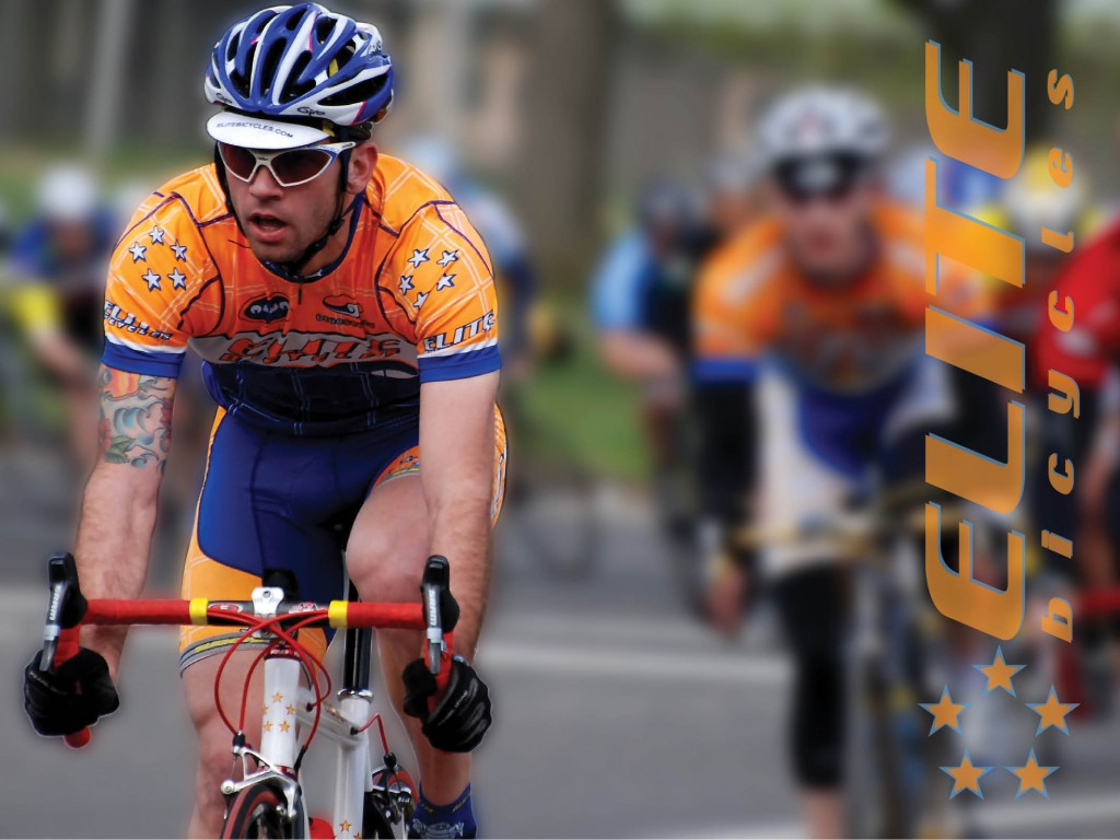John Wanner leads road racing competition for Elite Bicycles