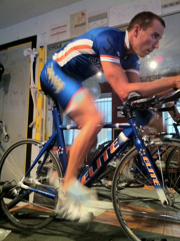 Chris Ganter, Elite Bicycles Pro team Triathlete