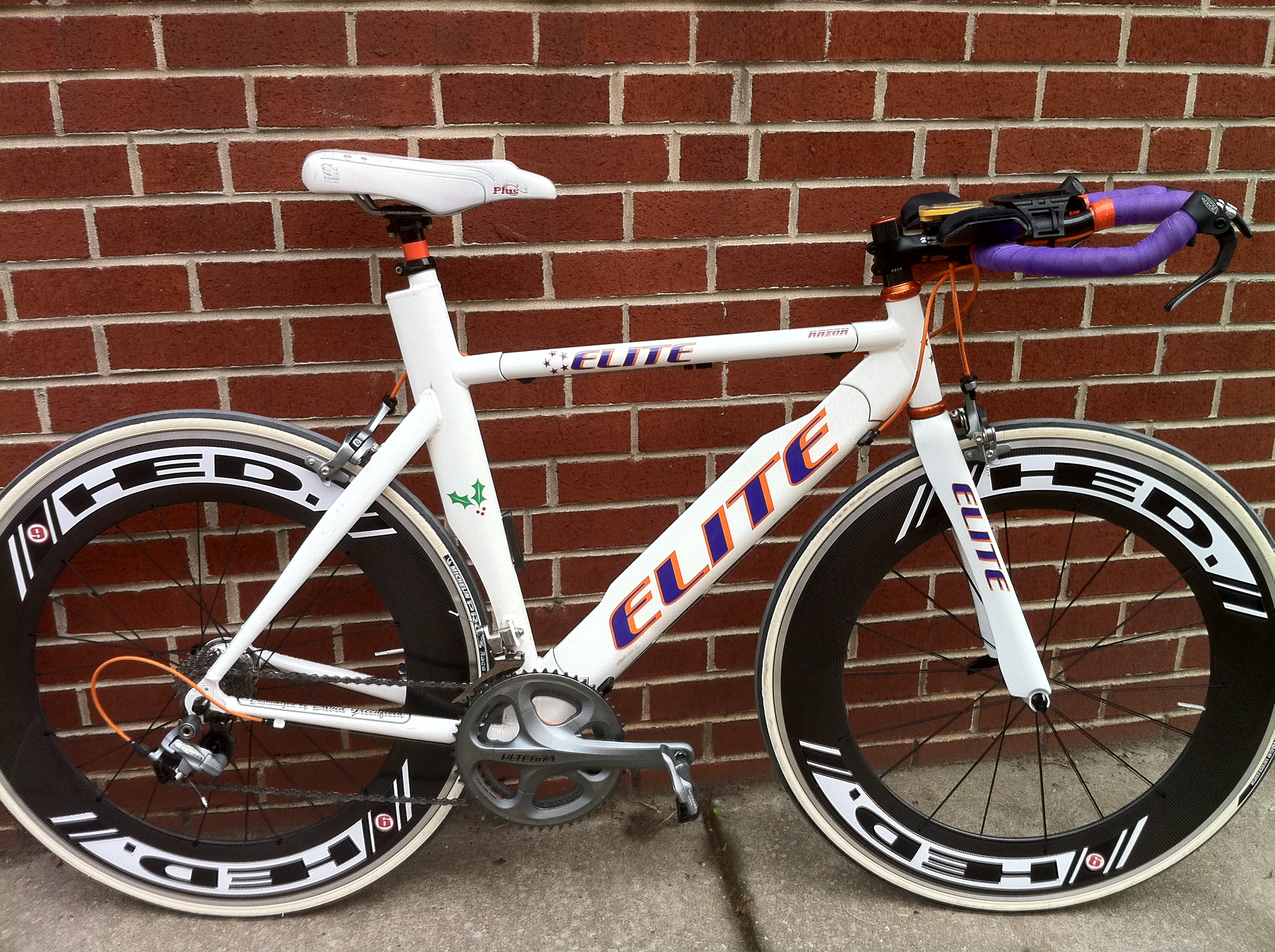Geldhauser wins steelman triathlon elite bicycles news for Custom bicycle painting